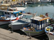 Fischerboote in Heraklion